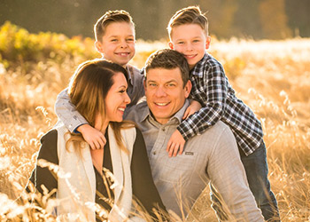 Dr. Darren Scheirman and family